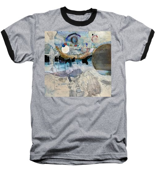 Icy Moon Baseball T-Shirt