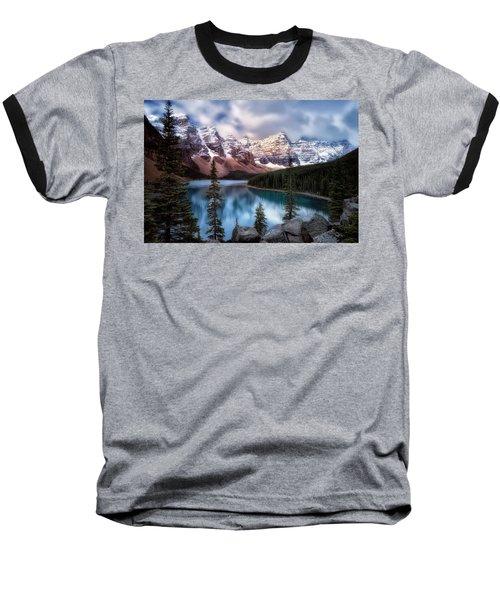 Icy Stillness Baseball T-Shirt by Nicki Frates
