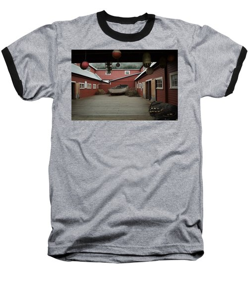 Icy Strait Point Cannery Museum Baseball T-Shirt