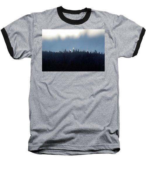 Icy Sunrise Baseball T-Shirt