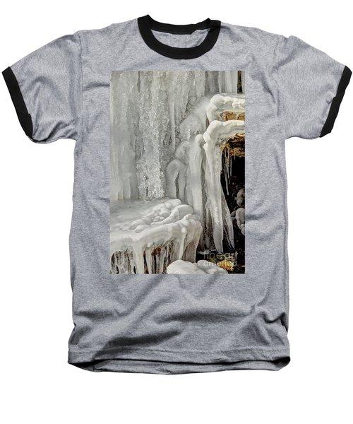 Icy Tendrils Baseball T-Shirt