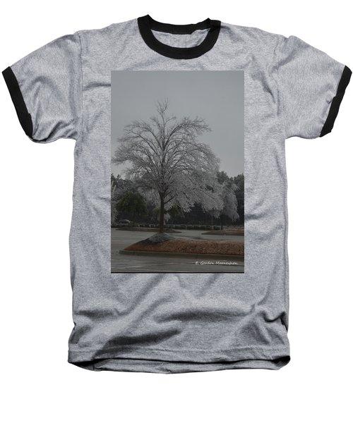 Icy Tree Baseball T-Shirt