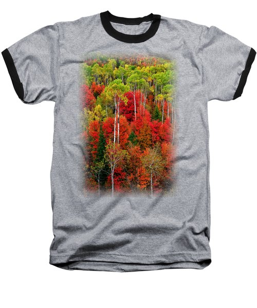 Idaho Autumn T-shirt Baseball T-Shirt by Greg Norrell