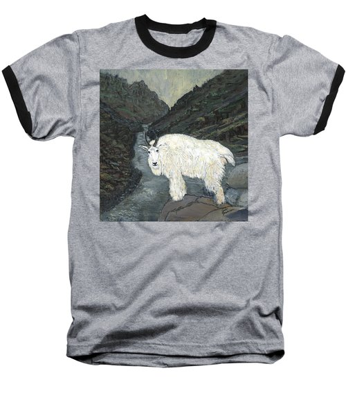 Idaho Mountain Goat Baseball T-Shirt