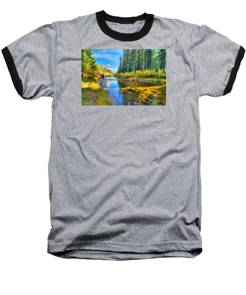Idaho Stream 2 Baseball T-Shirt