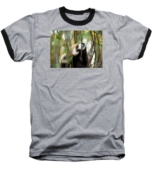 Idgie In A Tree Baseball T-Shirt by Lisa L Silva