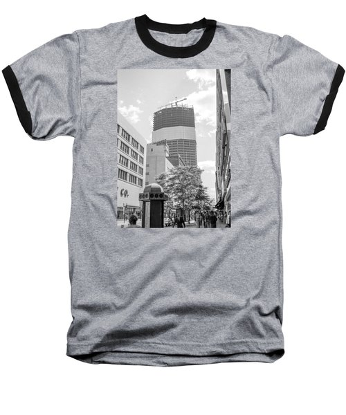 Ids Building Construction Baseball T-Shirt
