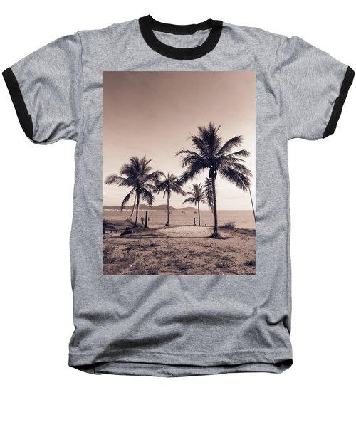 Idyllic Beach Baseball T-Shirt