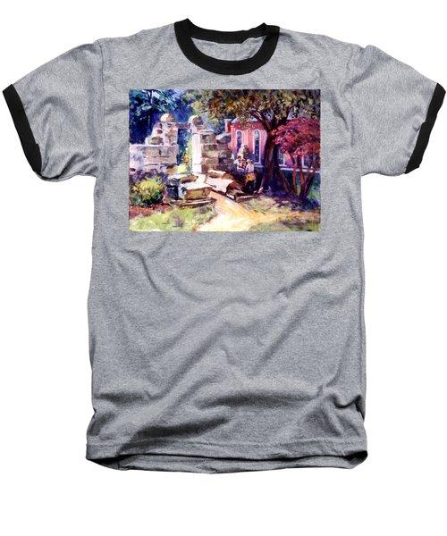 Idyllic Landscape Baseball T-Shirt