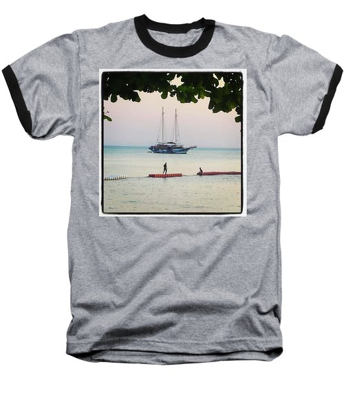 Baseball T-Shirt featuring the photograph Idyllic Setting To Idle The Time Away by Mr Photojimsf