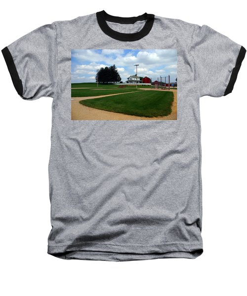 If You Build It They Will Come Baseball T-Shirt by Susanne Van Hulst