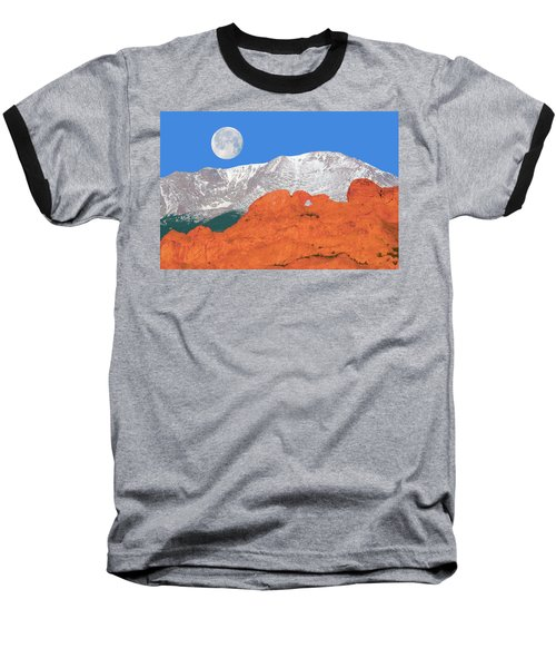If You're Lucky Enough To Live In The Mountains, You're Lucky Enough.  Baseball T-Shirt