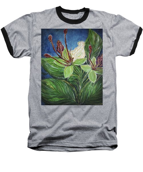 Ifit Flower Guam Baseball T-Shirt
