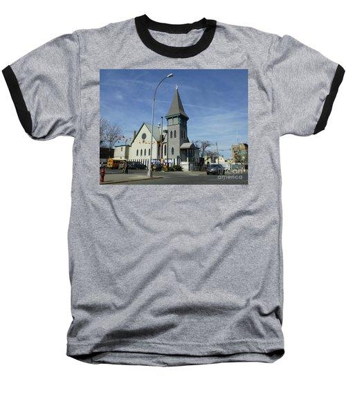 Iglesia Metodista Unida Church Baseball T-Shirt