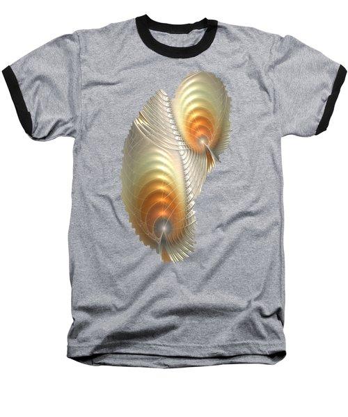 Baseball T-Shirt featuring the digital art Ignis Fatuus by Anastasiya Malakhova