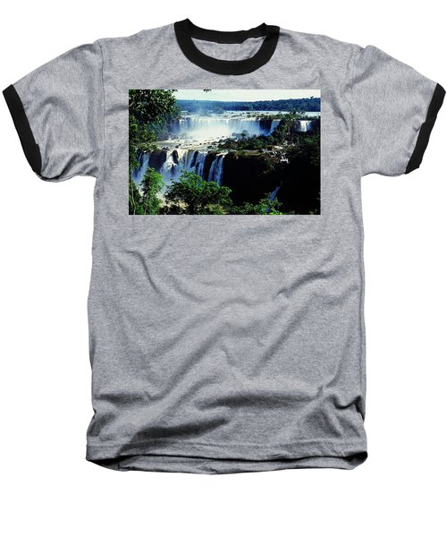 Iguacu Waterfalls Baseball T-Shirt