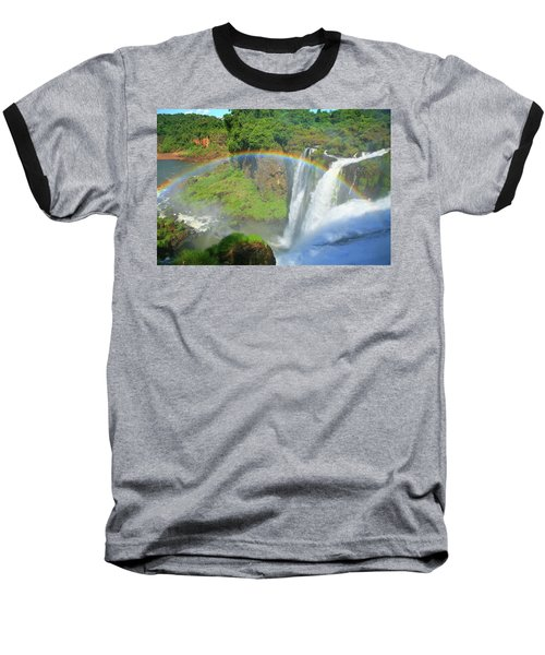 Iguazu Rainbow Baseball T-Shirt