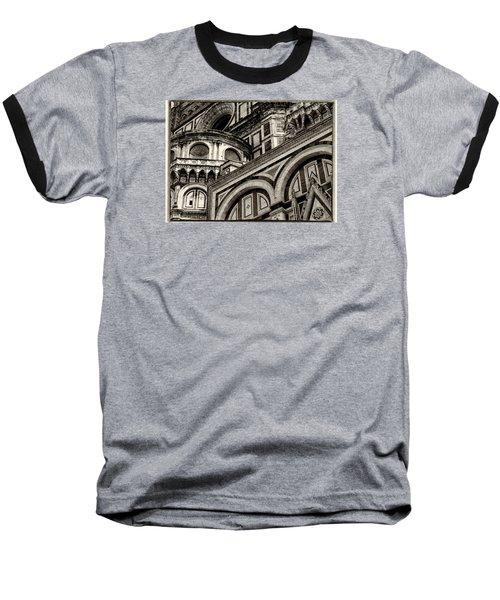 Il Duomo Di Firenze Baseball T-Shirt