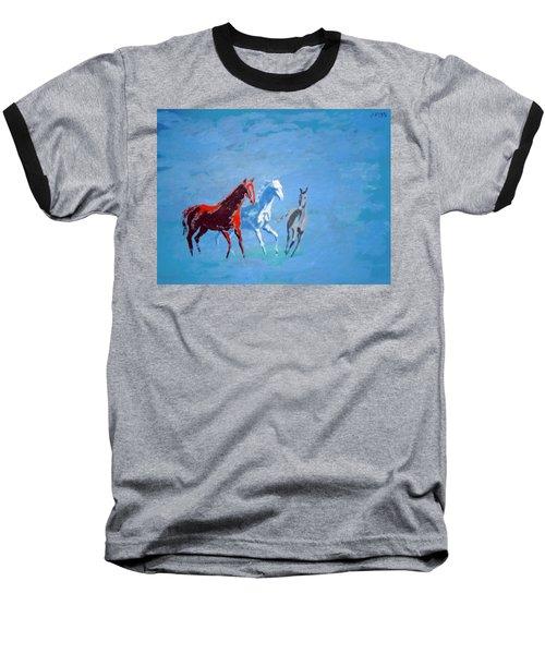 Il Futuro Ci Viene Incontro Baseball T-Shirt