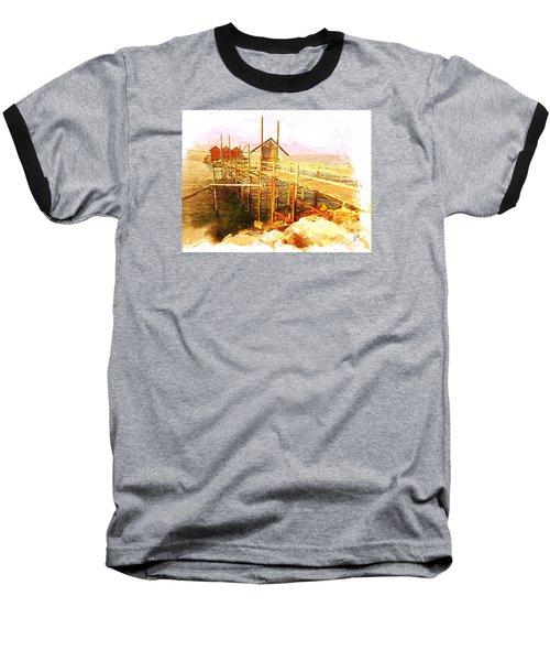 Il Grande Trabucco - Trebuchet Fishing Baseball T-Shirt