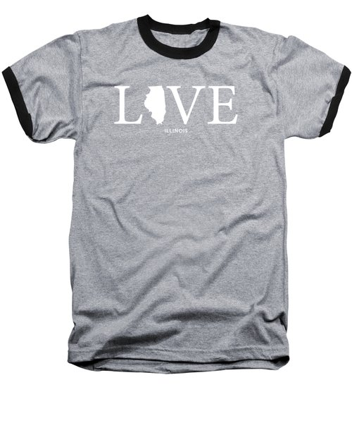 Il Love Baseball T-Shirt by Nancy Ingersoll