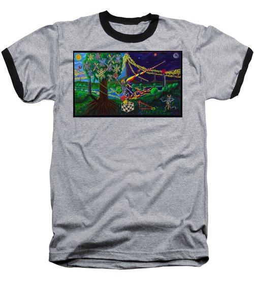 Il Paradiso Il Modello Della Genesi Baseball T-Shirt