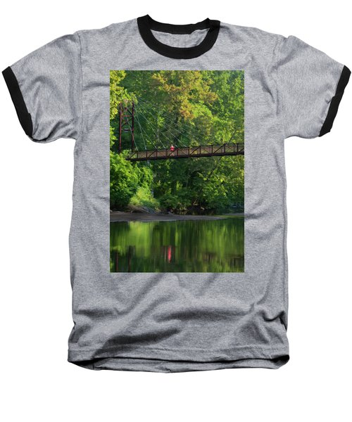 Ilchester-patterson Swinging Bridge Baseball T-Shirt