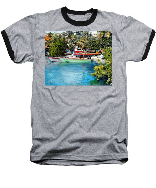 Iles Des Saintes Baseball T-Shirt