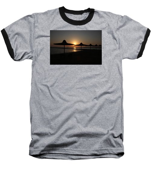 Baseball T-Shirt featuring the photograph I'll Meander  by Jez C Self