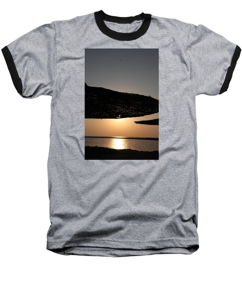 Baseball T-Shirt featuring the photograph I'll Miss You by Jez C Self