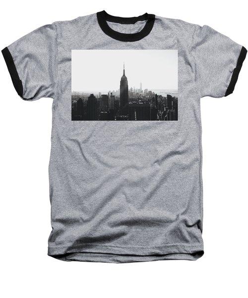 I'll Take Manhattan  Baseball T-Shirt by J Montrice