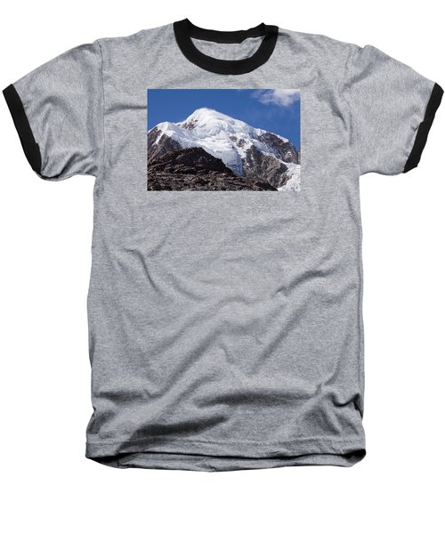 Illampu Mountain Baseball T-Shirt