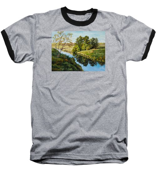 Illinois Countryside  Baseball T-Shirt