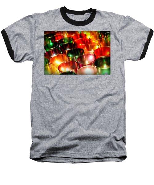 Illuminated Prayers Baseball T-Shirt