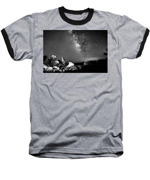 Baseball T-Shirt featuring the photograph Illuminati Iv by Ryan Weddle