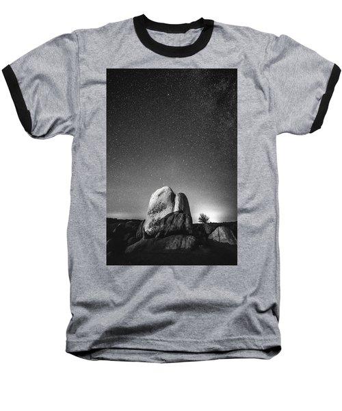 Baseball T-Shirt featuring the photograph Illuminati V by Ryan Weddle