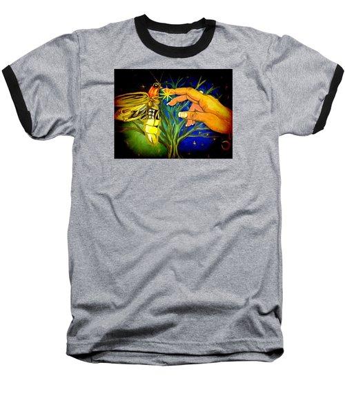 Illumination Baseball T-Shirt by Alexandria Weaselwise Busen