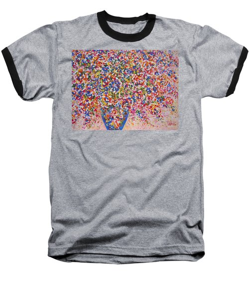 Baseball T-Shirt featuring the painting Illumination by Natalie Holland