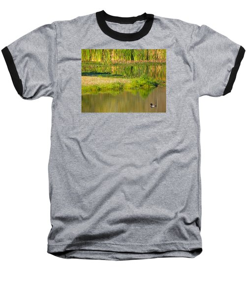 Baseball T-Shirt featuring the photograph Illusion Confusion by Rosalie Scanlon