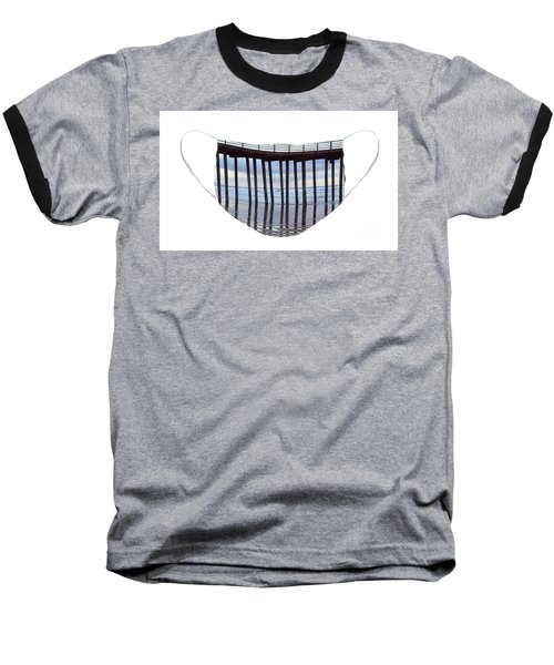 Illusion Baseball T-Shirt by Debby Pueschel