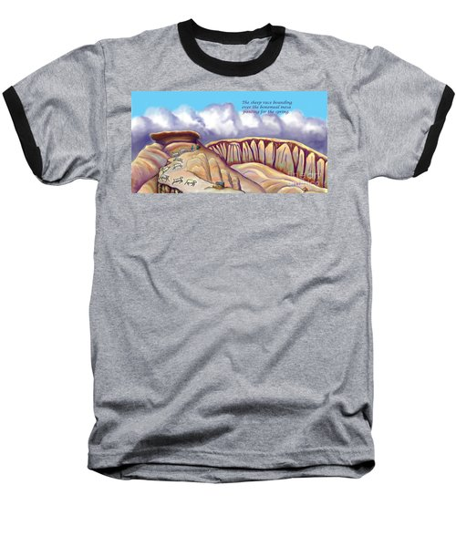 Illustrated Haiku 2 - Age 17 Baseball T-Shirt by Dawn Senior-Trask