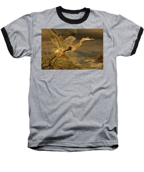 I'm Out Of Here Wildlife Art By Kaylyn Franks Baseball T-Shirt