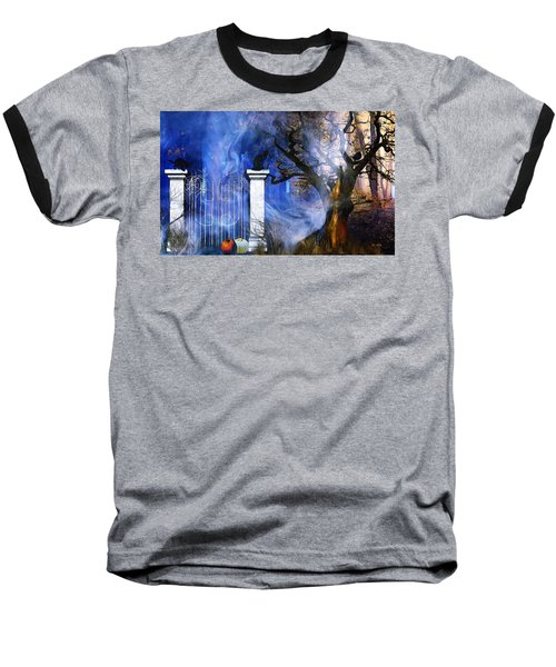 I'm Watching You Baseball T-Shirt by Gabriella Weninger - David