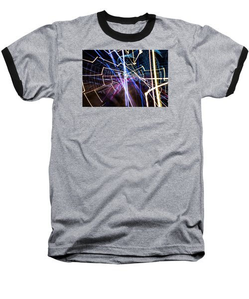 Baseball T-Shirt featuring the photograph Image Burn by Micah Goff