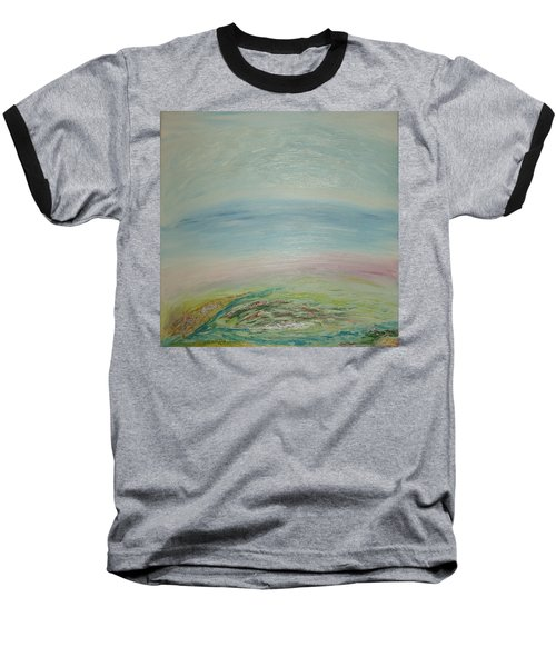 Imagination 7. Landscape. Three Dimensions. View From The Sky. Baseball T-Shirt