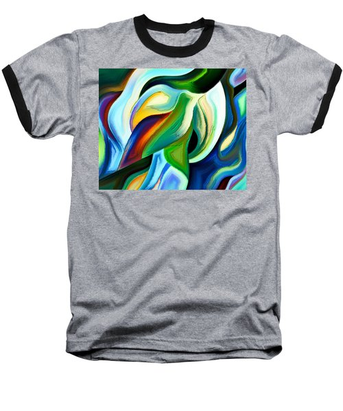 Baseball T-Shirt featuring the painting Imagination by Karen Showell
