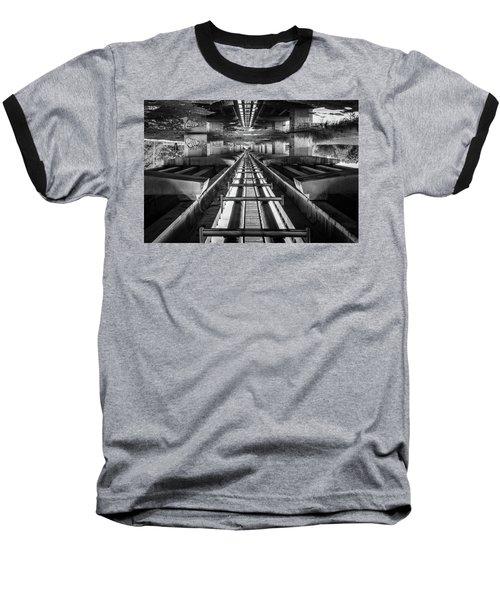 Imaginery Tracks Baseball T-Shirt