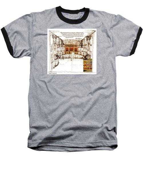 Imaginitive Genius V4 Baseball T-Shirt