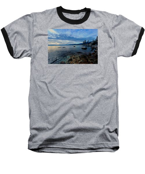 Immersed Baseball T-Shirt by Sean Sarsfield
