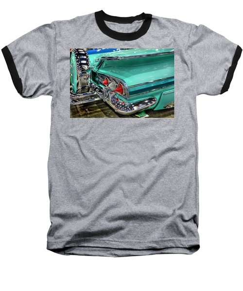 Impala Baseball T-Shirt by Nicholas  Grunas